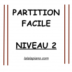 Partition Facile Niveau 2