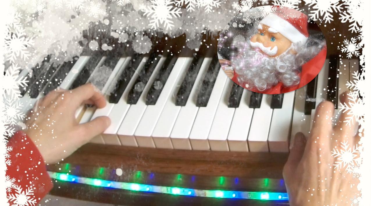 Partition Piano Petit Papa Noël