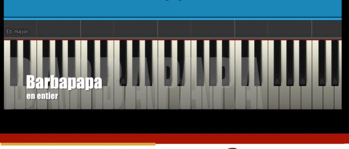 partition de piano et synthesia